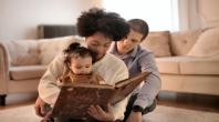 famille, livre, histoire