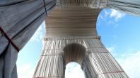 Arc de triomphe par Christo