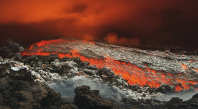 éruption volcan