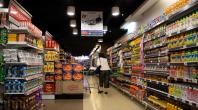 supermarché, produits, client