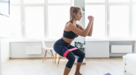 Squats pour perdre des hanches