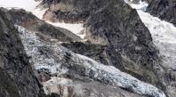 Un glacier du Mont Blanc sur le point de s'effondrer en Italie