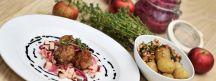 Viande et légume en plat