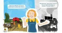 Une personne s'interroge sur l'évolution de l'agriculture
