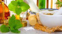 ingrédients naturels posés sur une table
