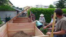 Compostiers en action à Lyon