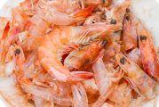 Carcasses de crevettes