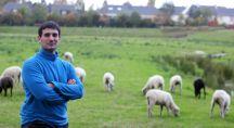 Matthieu Pirès et son élevage de moutons avranchins