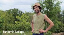 Benjamin Lesage posant pour les caméras de Zango