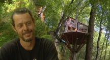 Xavier Marmier et sa cabane écologique