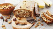Cake bananes amandes chocolat