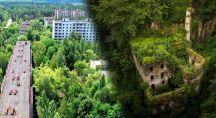 Lieux abandonnés en montagne et en Ukraine