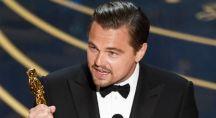 Leonardo DiCaprio reçoit l'oscar du meilleur acteur en 2016