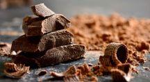 des copeaux de chocolat