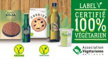 des produits végétariens certifiés par le label V
