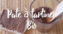 recette de la pâte à tartine au gout chocolat-noisette