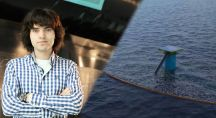 Un étudiant néerlandais fabrique un prototype pour nettoyer les océans du plastique
