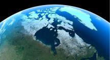 images satellites des glaciers d'Alaska
