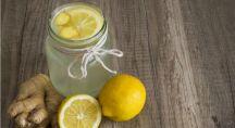 jus de gingembre, citron et pommes pour lutter contre la grippe