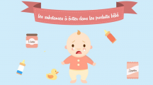 Les substances à éviter dans les produits bébé
