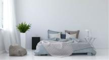 une maison avec une décoration minimaliste