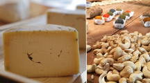 des fromages végétaux à base de noix de cajou