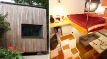 Laissez-vous tenter par cette tiny house, un maison cube de 3m2