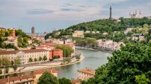 Lyon vu du Fort de Vaise