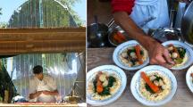 Dans ce restaurant français, on cuisine bio, local et à l'énergie solaire