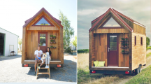 Ce couple de français vit heureux dans une Tiny House