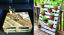 Palette en bois : 10 utilisations pour une déco récup