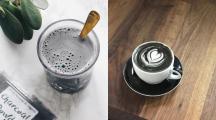 Le charcoal latte, la boisson detox au charbon végétal