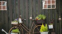Déco jardin avec objets récup