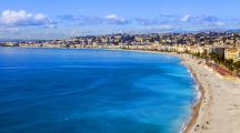 plage nice France