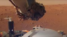 Pour la première fois de l'Histoire, un robot enregistre le bruit du vent sur Mars !