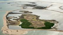 Archipel îles artificielles aux Pays-Bas