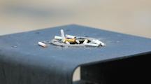 Systèmes de recyclage innovants et cendriers au sol pour lutter contre la pollution des mégots