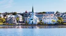 la ville de Reykjavik