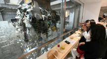 Japon : un bar éphémère installé dans une usine de déchets