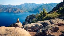 La réserve de scandola en Corse