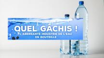 Toute l'absurdité de l'eau en bouteille plastique dans une infographie