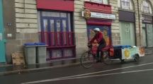 La Tricyclerie à Nantes qui propose une solution de collectes de déchets organiques aux restaurants.