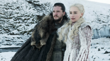 Jon Snow et Daenerys dans Game of Thrones