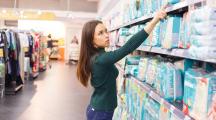 couche bébé supermarchés