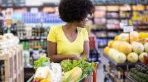 fruits et légumes bio supermarché