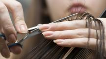 Cheveux coupés pour recyclage
