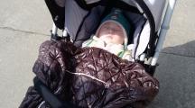 sieste bébé dehors