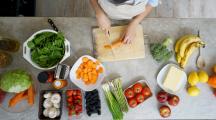 avc et alimentation végétarienne