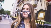 masque transparent et écolo