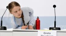 nouvel appel européen de Greta Thunberg